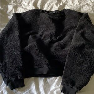 Urban outfitters cropped Sherpa